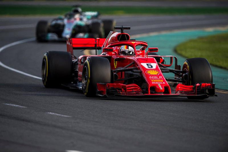 2018-Melboune-GP Australie-SF71H-Vettel-a