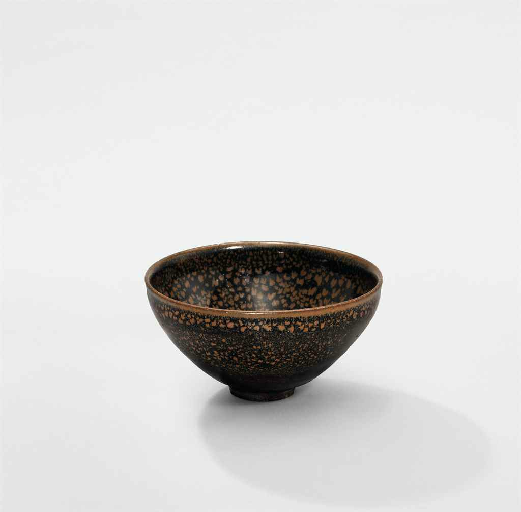 A russet 'oil spot'black-glazed bowl, Northern Song-Jin Dynasty (960-1234)