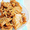 Aiguillettes végétaliennes épicées ou comment remplacer de la viande de poulet {recette avec la viande végétale vegan deli}