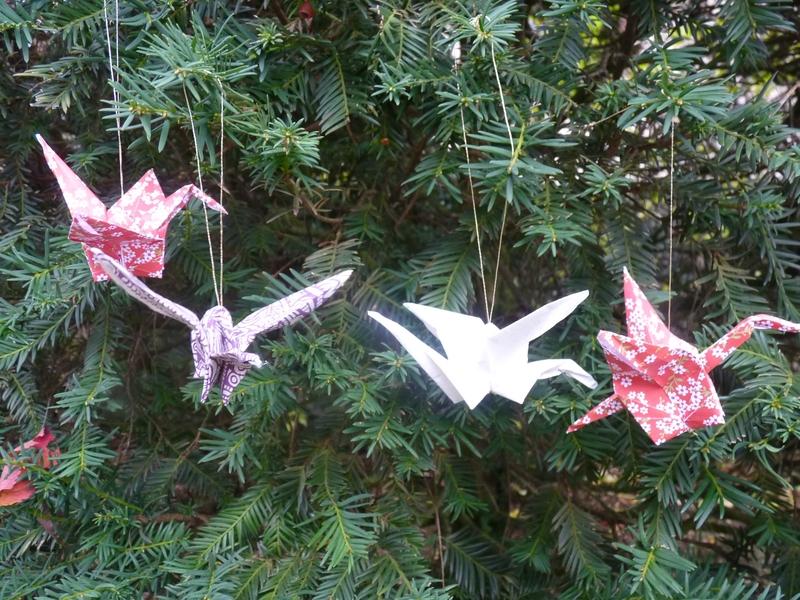 Grues en origami (1)