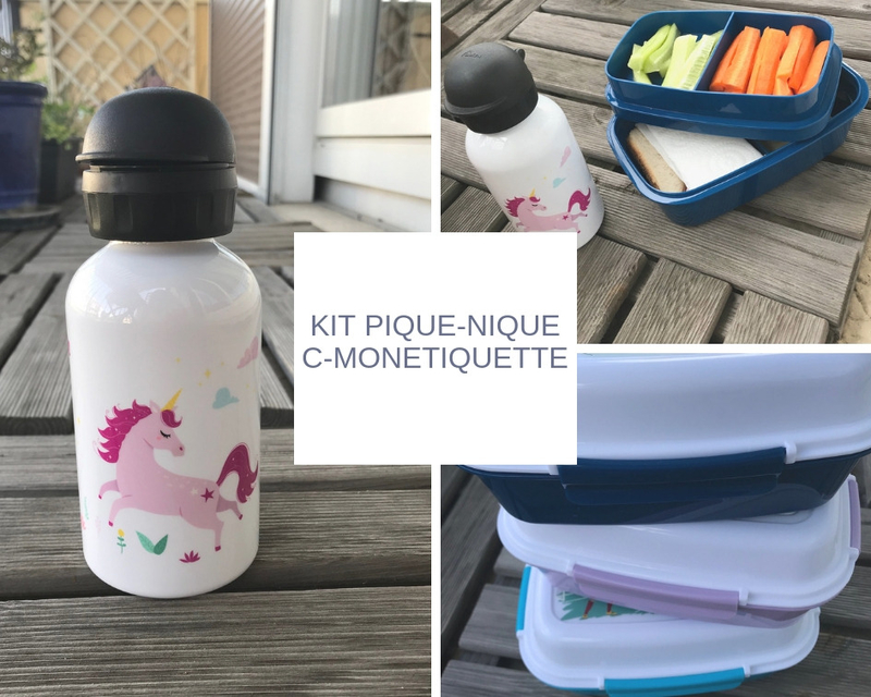 Kit C-MonEtiquette pour pique-niques ©Kid Friendly