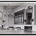 Compiègne - chateau - le Palais - Salon de jeux de Marie Antoinette