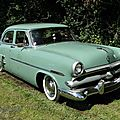Ford customline 4door sedan, 1953