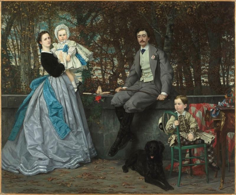 01-exposition-orsay-james-tissot-portrait-du-marquis-et-de-la-marquise-miramon-et-de-leur-enfants-1024x850