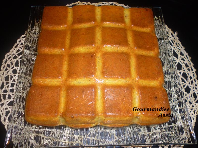 Gâteau au Pavot et Tomate séchée2