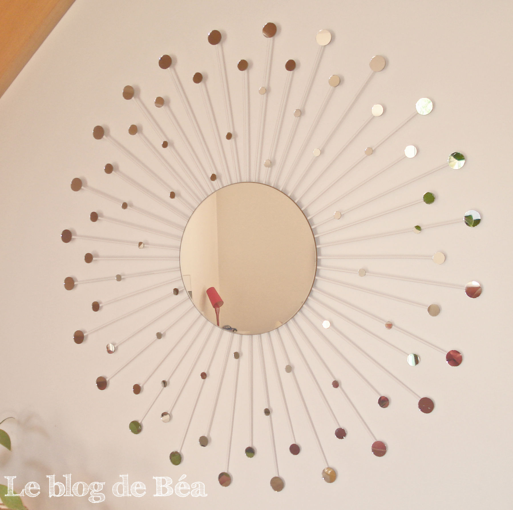 DIY miroir constellation