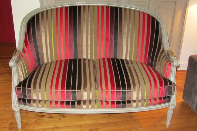tissu moyka scarlet designer guild côté sièges Brest