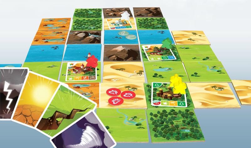Boutique jeux de société - Pontivy - morbihan - ludis factory - Gaïa plateau