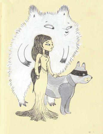 chien_ours_femme