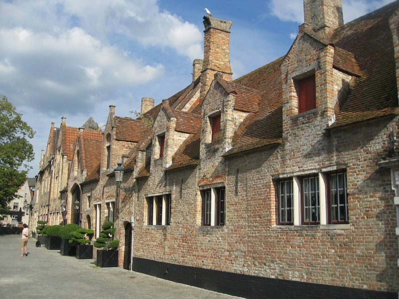 Bruges, the secret garden