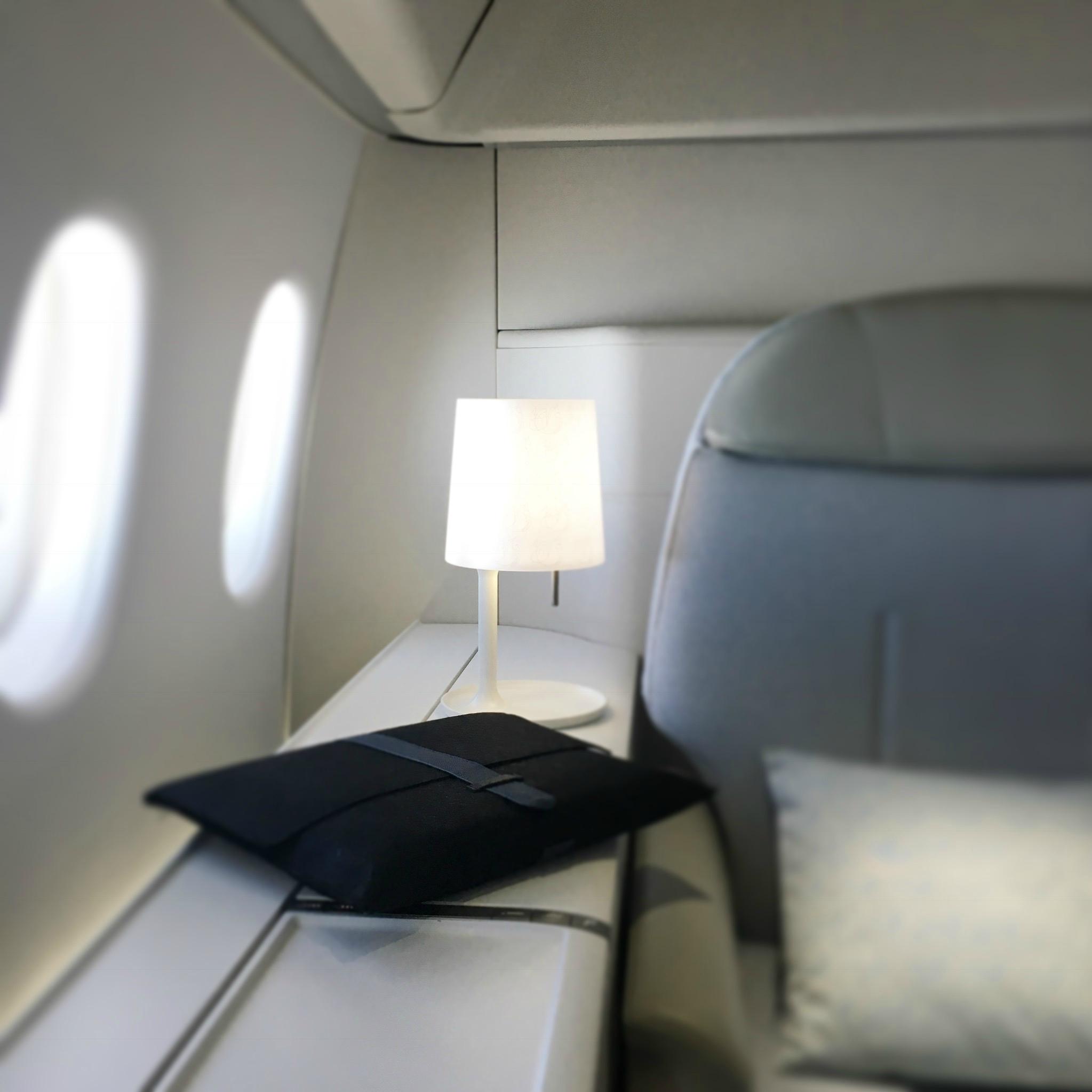"Nouveau Pyjama ""Party"" IN THE AIR en First chez Air France"