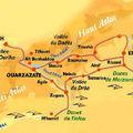Carte du Sud Marocain