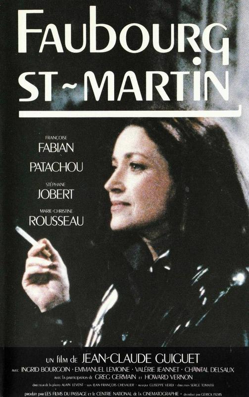 Affiche Film Faubourg Saint-Martin Jean-Claude Guiguet