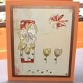 Carte peinture tulip