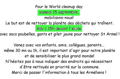 World Cleanup day 01
