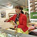 Coulommiers : la foire aux fromages 2012 était un vrai labyrinthe pour découvrir le fromage