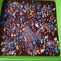Brownie aux mnm's