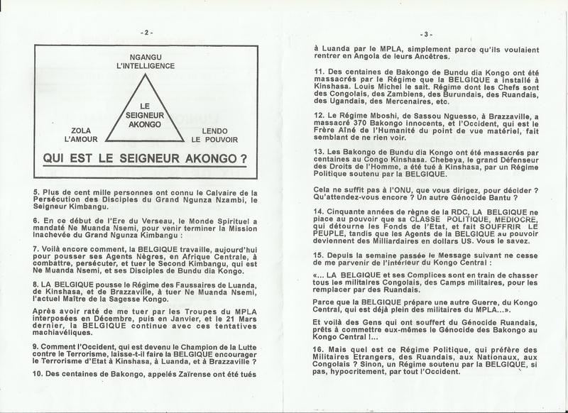 LE CRI DE DETRESSE DU PEUPLE KONGO AUX GRANDES PUISSANCES b