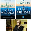The casual vacancy, de j.k. rowling