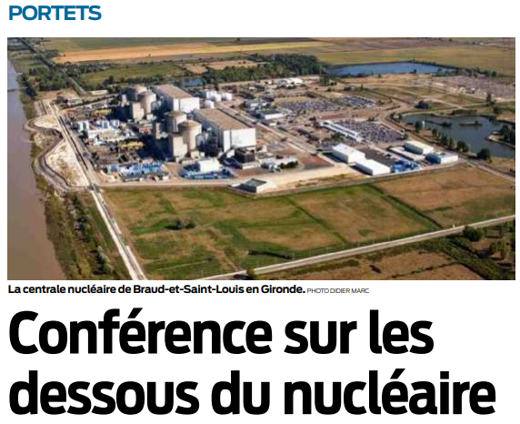2020 01 24 SO Portets Conférence sur les dessous du nucléaire