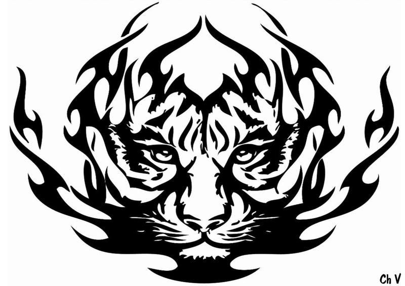 tigre tribal 1