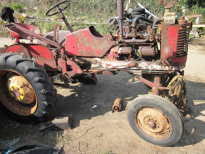 Restauration tracteur PONY de 1954