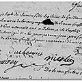 Dinan (22) paris (75) - marie-angélique-joseph duchemin veuve brulon (1772 - 1859)