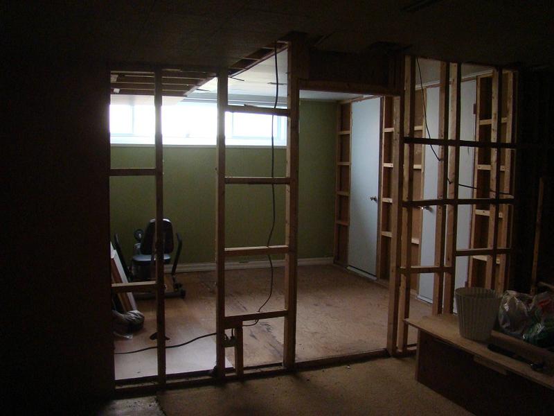 prochaine salle d'entrainement au sous-sol