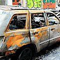 Saint-sylvestre : le ministère de l'intérieur accusé d'avoir minimisé le nombre de voitures brûlées