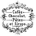 chocolat cafe vintage graphicsfairy3bwm