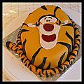 Cake design - tigrou