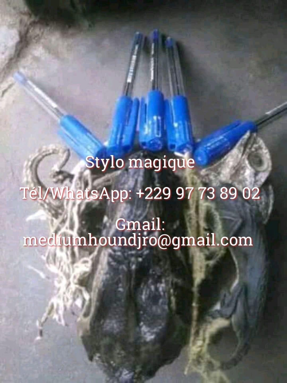 Le stylo Magique( puissant Bic magique )