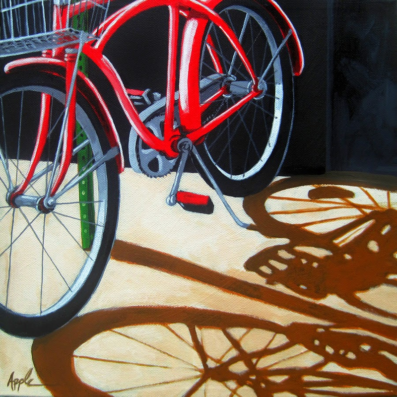bicycle Linda Apple-In the Shadows