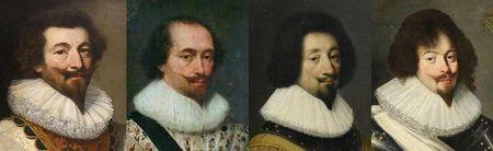 Portraits français années 1620