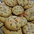 Cookies au chocolat au lait et caramel à la fleur de sel