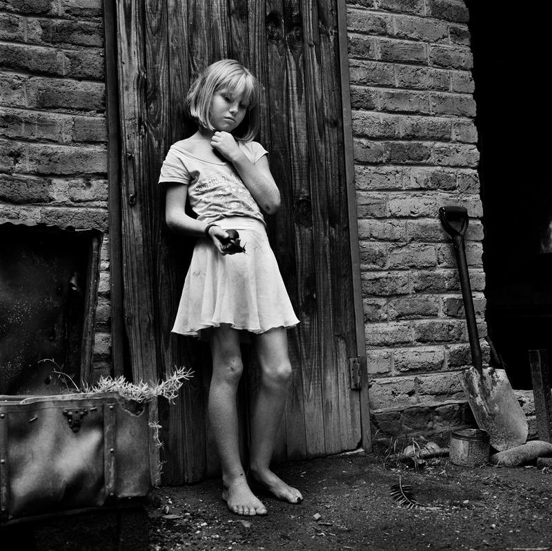 Beth et l'escargot-Ledbury Farm-Zimbabwe 2013