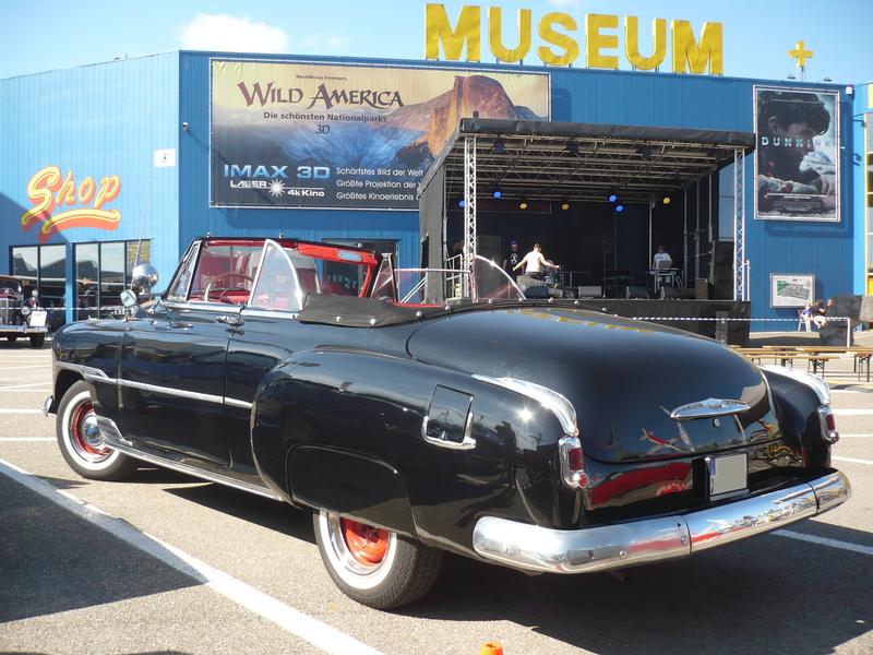 CHEVROLET Styleline Deluxe 2door convertible 1951 Sinsheim (2)