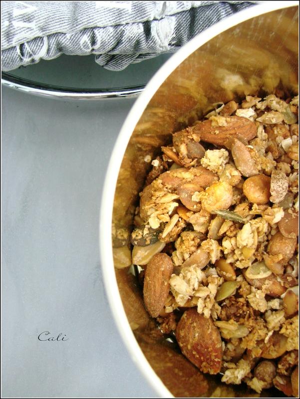 Granola aux fruits secs 002