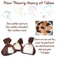 Sachets et biscuits pour les professeurs de Titefée