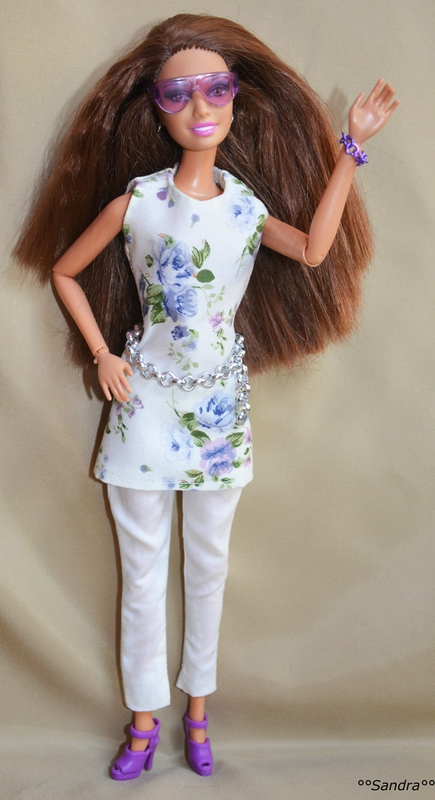 Barbie tunique couture