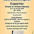 Exposition du 11 au 16 juin 2019