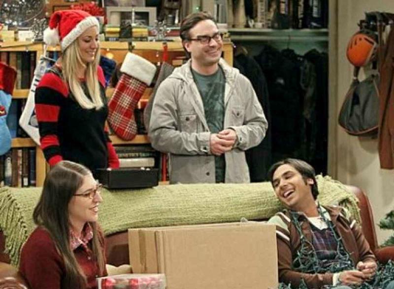 Big bang theory - Noël