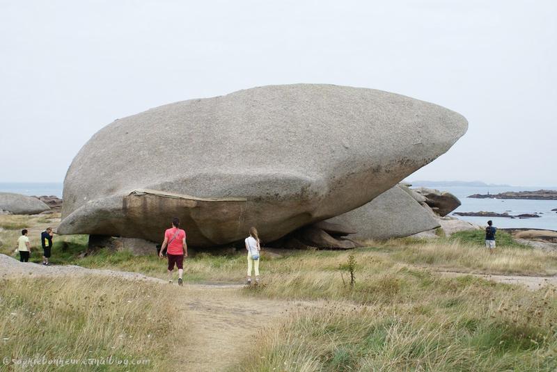 Trégastel rocher baleine