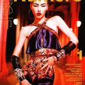 Liu wen (marilyn) by tiziano magni for numéro china #1, september 2010