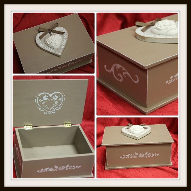 Boîte coeur pour Mimi