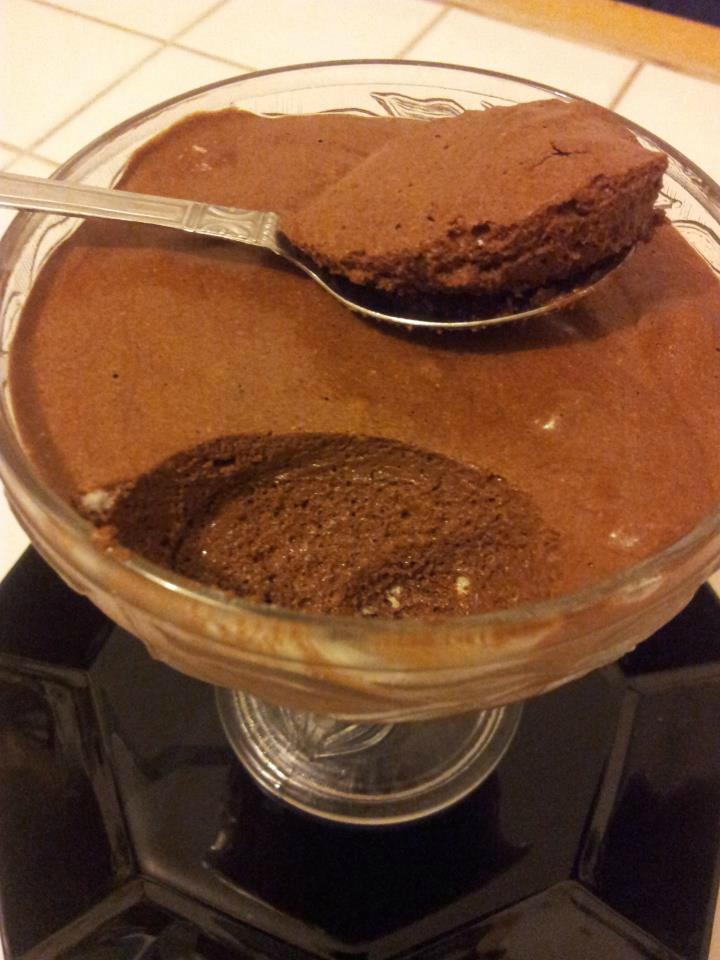 Mousse au chocolat sans jaunes doeufs