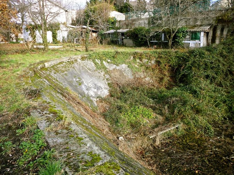 bassin avant large