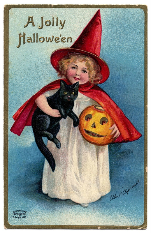 halloween+lil+witch+vintage+image+graphicsfairy3