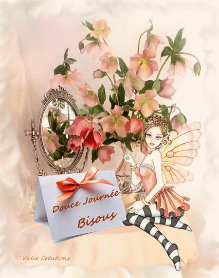 douce journée fee fleur