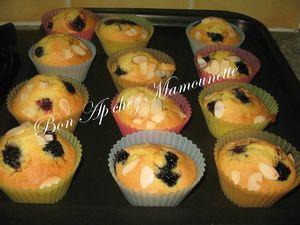 Petits gâteaux à la mûre sauvage 007